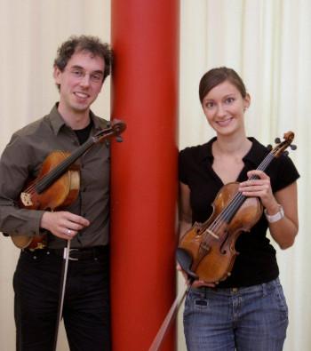 Lucja Madziar und Sebastian Bürger
